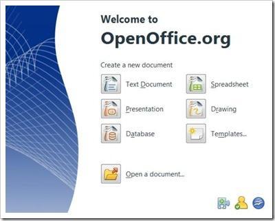 openoffice3-page-demarrage