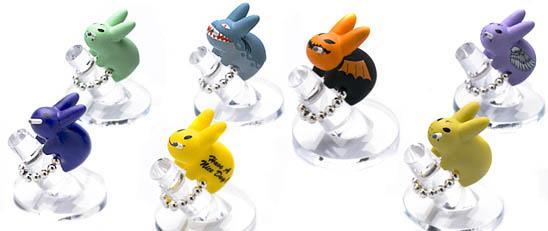 des bagues-lapins: les Labbits