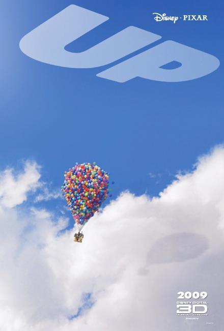 UP le prochain Pixar : une nouvelle affiche