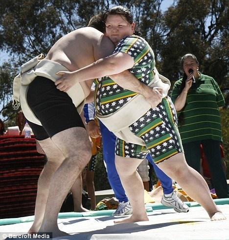 Samantha-Jane Stacey, championne de sumo