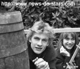 Guillaume Depardieu et sa mère en 1992