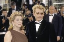 Guillaume Depardieu et Catherine Deneuve à Cannes en 1999