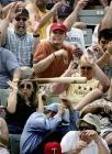 batte de baseball dans le public accident