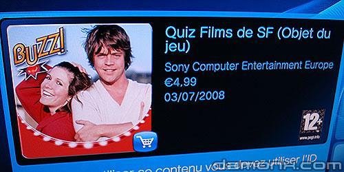 Buzz Quiz TV Pack Science Fiction et Jeux Vidéo