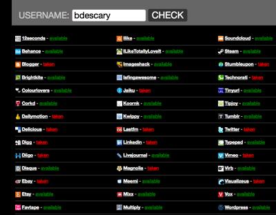 2940950631_52ea5ba94d_o Usernamecheck: vérifier la disponibilité dun nom d'usager sur plus de 60 services Web en un clic
