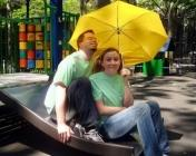 adultes parapluie