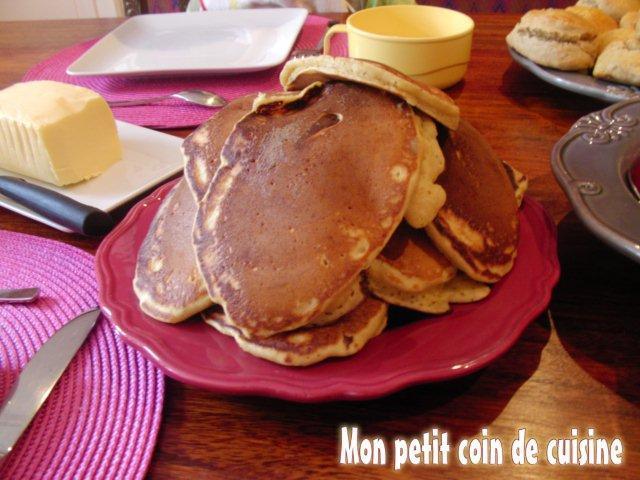 Pancakes (sans lait de vache)