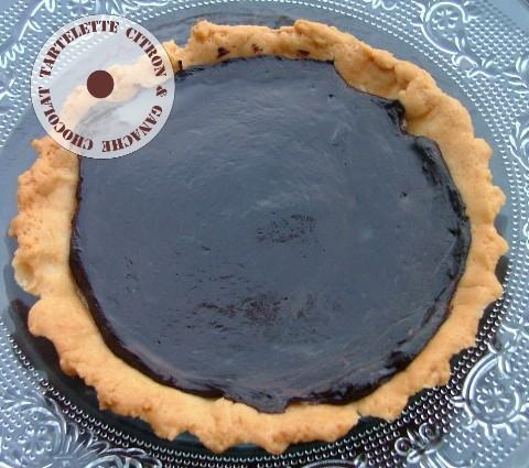 Tartelettes au citron & à la ganache chocolat noir