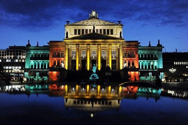 Festival des lumières à Berlin