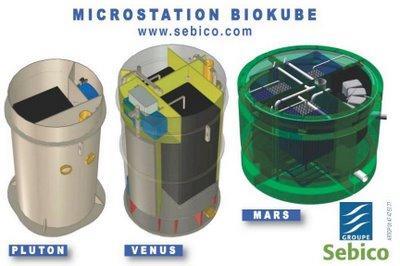 biokube de sebico une nouvelle station d 39 assainissement des eaux us es domestiques paperblog. Black Bedroom Furniture Sets. Home Design Ideas