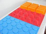 Moules en silicone pour préparations gourmandes...