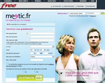 Rencontre yahoo meetic