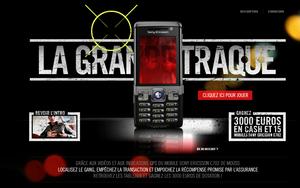Sony Ericsson & SFR La grande traque live !!!