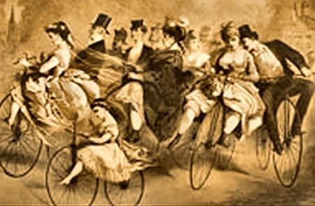Un sport nouveau en 1868 les courses de bicycle ou for Serrurier vaucresson