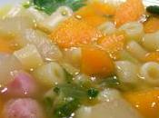 Soupe légumes façon minestrone