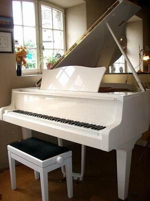 Mon piano ma musique voir for Piano blanc a queue