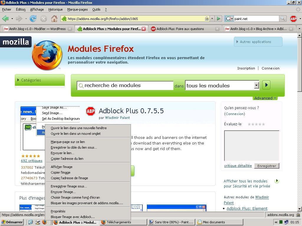 Mozilla Adblocker