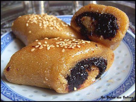 Makrouts aux dattes frits ( pâtisserie orientale )