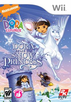 Dora sauve la Princesse des Neiges sur Wii