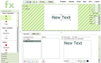 Logiciel de cr ation flash gratuit et facile paperblog for Logiciel facile