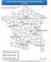 centres de marques, magasin d'usine, magasin usine, projets en France, Troyes, Roubaix, Marques Avenue, Mc Arthur Glen
