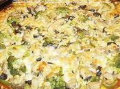 Pizza végétarienne brocolis