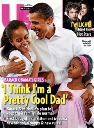 Barack Obama et ses filles