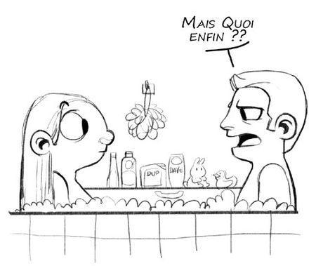 La blague du bain ou la curiosit est un vilain d faut - La curiosite est un vilain defaut rtl ...