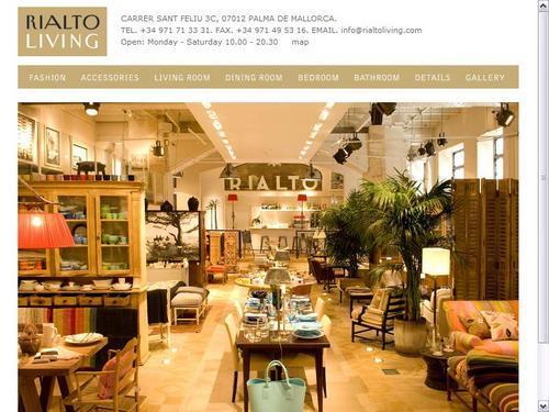D couvrez rialto living palma le concept store maison - Living palma ...