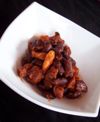 Haricots rouges aux crevettes et au chorizo voir - Comment cuisiner les haricots rouges ...