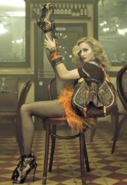 Madonna pour Vuitton