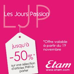 les bons plans Etam de planete reductions