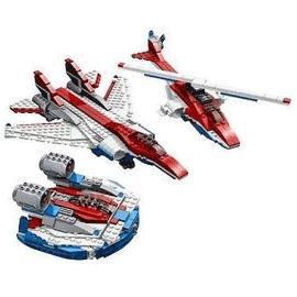 Lego creator 4953 avion de chasse h licopt re - Avion de chasse en lego ...