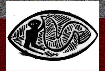 La symbolique du serpent dans la sculpture des pahouins du for Symbolique du miroir