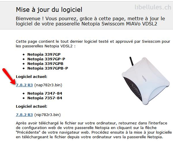 mise jour du logiciel de votre modem vdsl motorola. Black Bedroom Furniture Sets. Home Design Ideas