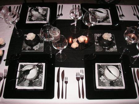 Table r veillon de la st sylvestre paperblog - Deco table reveillon st sylvestre ...