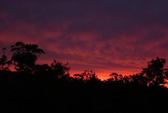 Coucher de soleil australien paperblog - Sylvain tesson une vie a coucher dehors ...