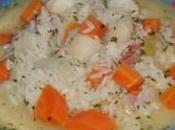 Soupe céleri-rave carottes
