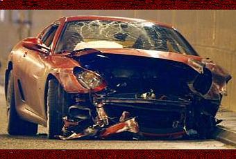 accident de voiture de cristiano ronaldo au volant de sa ferrari d couvrir. Black Bedroom Furniture Sets. Home Design Ideas