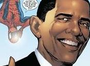 Obama geekysé Marvel