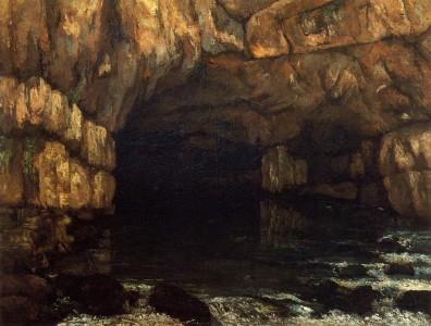 Gustave Courbet, La source de la Loue, 1864