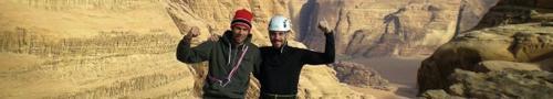 wadi rum jordanie escalade grande voie rock climbing jordan