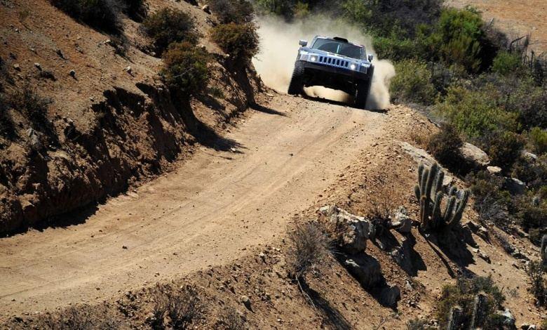 Le rallye Dakar 2009
