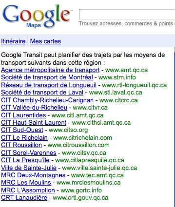 google-maps-transport-publics-2 Google Maps intègre tous les transports publics de la région de Montréal