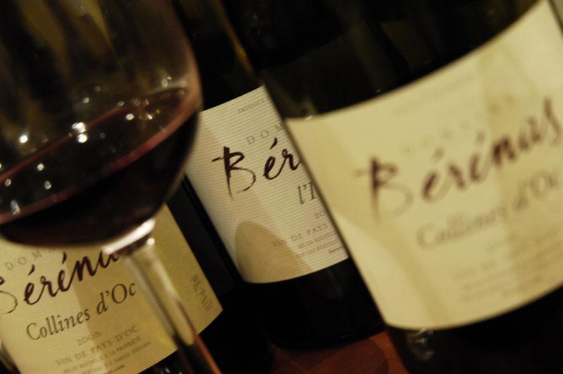 bouteille de vin - bérénas