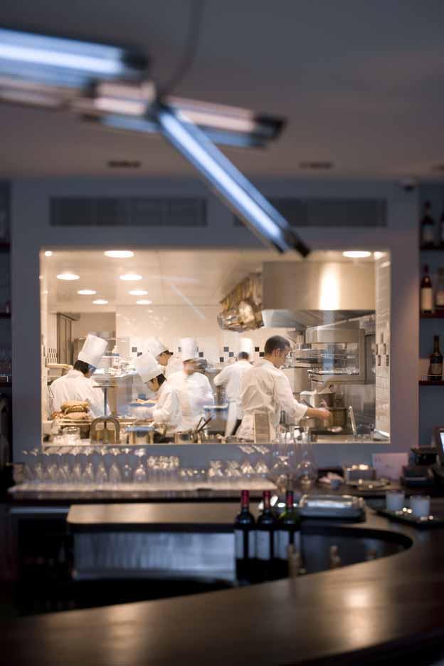 Le Restaurant Antoine, avenue de New-York dans le XVIème