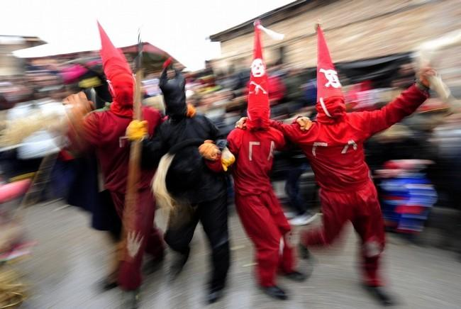 Le carnaval de Vevcani, Macédoine