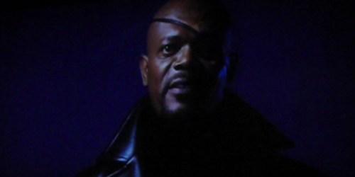 Samuel L jackson est Nick Fury Dans Iron-Man
