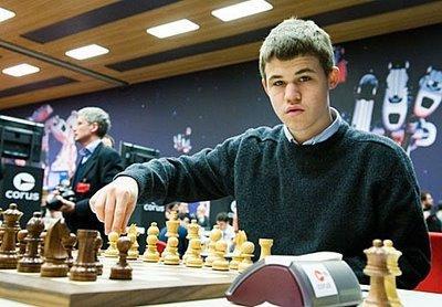le norvégien Magnus Carlsen, un des grands favoris du tournoi - photo Fred Lucas