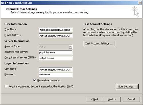 Migration de compte hotmail vers outlook - 1